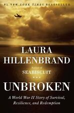 UNBROKEN by Laura Hillenbrand Hardcover - the inspiring story of Louis Zamperini