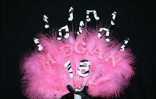 Nota musicale, musica personalizzato compleanno cake topper, Personalizzata Nome, Età, colori