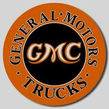 GMC General MotorsTrucks  Metal Sign Tin New Vintage Style USA #1012
