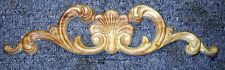 "WOOD EMBOSSED APPLIQUE 2 7/8"" X 11 3/8 HQ007"