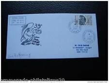 TAAF carta 1/12/2001 - sello Yvert y Tellier nº280 (Q) (cy2)