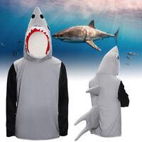 Adulte requin attaque Costume Animal mâchoires unisexe poisson déguisement