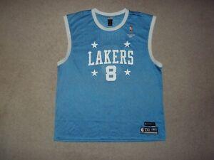 Kobe Bryant 1959-60 Reebok Los Angeles Lakers Throwback HWC Vintage 2XL Jersey