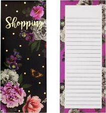 Indigo Dream Let/'s Shop Remember Shopping List Magnetic Tear Off Pages Memo Pad