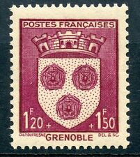 STAMP / TIMBRE FRANCE NEUF N° 557 ** BLASON / GRENOBLE