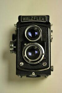 Walz WALZFLEX TLR 6x6 medium format camera Kominar 75mm F/3.5 lens. READ.