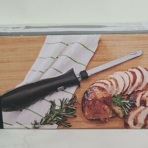Mainstays Electric Knife -Easy Clean - Dishwasher Safe Blades- Ergonomic Handle