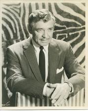 Clark Gable original 1950's studio portrait in pin striped suit holding cigarett