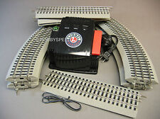 LIONEL CW-80 WATT TRANSFORMER & 40X60 OVAL FASTRACK TRACK SET layout 6-81734 NEW