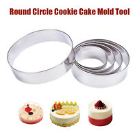 Stainless Steel Metal Cake Mold Cookie Cutter Baking Tools Fondant Mould