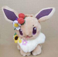Pokemon Center Original Plush Doll Eevee Flower Version Japan Import Gift Toy