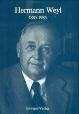 Hermann Weyl: 1885-1985: Centenary Lectures, , , Good, 1986-11-01,