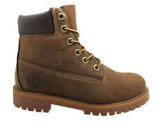 Chaussures marron Timberland en cuir pour garçon de 2 à 16 ans