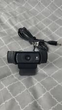 Logitech C920 Webcam Carl Zeiss Tessar HD 1080p Lightly Used Free Shipping!