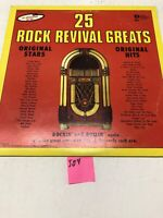 25. Rock Revival Greats Vinyl LP Album