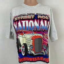 Street Rod Nationals NSRA 33rd Annual Double Sided T-Shirt 2002 Size Large