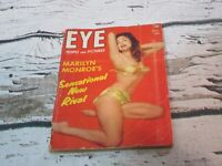 EYE People and Pictures OCTOBER 1953 ft. MARILYN MONROE'S Rival GLORIA PALL