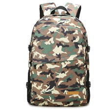 2020 new backpack female college students camouflage bag, leisure backpack, men'