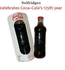 COCA COLA - COKE - 125th ANNIVERSARY BOTTLE - LIMITED EDITION - NEW