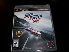 Replacement Case (NO GAME) NEED FOR SPEED RIVALS PLAYSTATION 3 PS3
