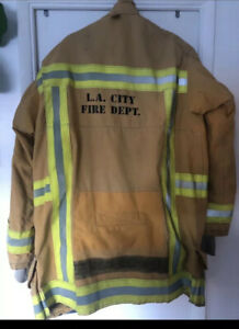 LAFD Turnout Jacket Firefighter Los Angeles City Fire Department LAFD 48