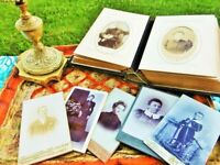 Album photo ancien d'époque Classique 19e siècle France Vintage antique photo al