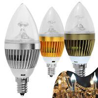 110V LED Candle Light Bulbs 6W 8W 10W E12 E26 E27 Dimmable Candelabra Chandelier