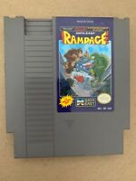 Rampage 100% AUTHENTIC ORIGINAL NINTENDO NES GAME Tested Working