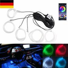 6 M RGB AUTO Neon Ambientebeleuchtung Innenbeleuchtung Lichtleisten 12V App