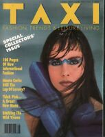 Taxi Fashion magazine August 1986 Stefano Massimo Neil kirk  053019DBE
