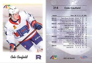 2021 All Sports #311 Cole Caufield RC rookie Laval Rocket