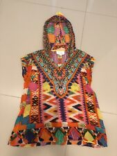 Camilla Franks Girls Hooded Kaftan Dress Size 4 Crystal Embellishment