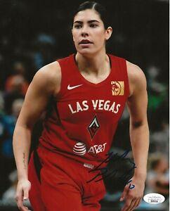 Kelsey Plum signed Las Vegas Aces 8x10 photo autographed JSA
