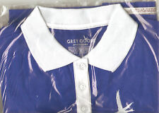 Womens Large Grey Goose Vodka Golf Shirt - New - Free Shipping
