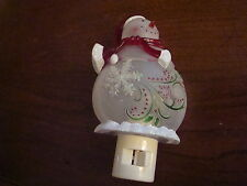 """NEW in thee box """"SANTA""""  NIGHTLIGHT  Exclusively for Cracker Barrel"""