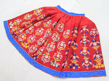 Ethnic Boho Gypsy Embroidery India Banjara Tribal Rabari Kuchi Belly Dance Skirt