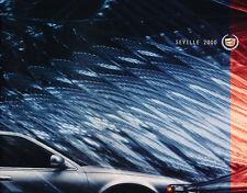 2000 Cadillac Seville SLS and STS 32-page Original Car Sales Brochure Catalog