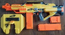NERF N-Strike Stampede ECS 50 + Blast Shield + Clips + Darts