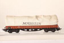 MÄRKLIN H0 Vagón con toldo 4 ejes DB 406 391 marrón (51734)