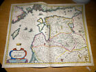 Livonia Map By Willem And Joan Bleau 1643 Condition Issues