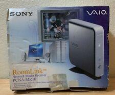 SONY VAIO RoomLink Network Media Receiver PCNA-MR10 Videos Music Photos on TV