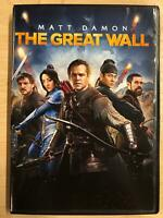 The Great Wall (DVD, 2016) - F0901