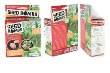 Dune Craft Seed Bombs 6/Pack Tasty Herbs Drop A Bomb and Get Plants Growing