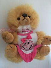 REALISTIC CUTE TAN  TEDDY BEAR  Puppy Dog POMERANIAN pooch parlor  Plush