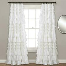 Kemmy Window Curtain Panel (1) White 52X84