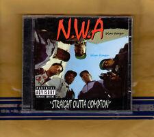 NWA Straight Outta Compton CD Album Original Recording Remastered [Explicit]