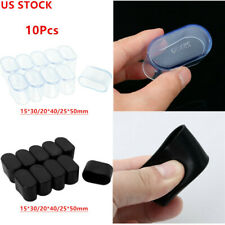 USA 10Pcs Table Chair Rubber Leg Tips Caps Furniture Foot Covers for Home Office