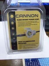 CANNON FLUSH MOUNT POWER PORT WHITE #1903013 BRAND NEW
