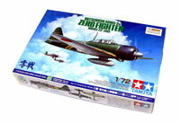 Tamiya Aircraft Model 1/72 Airplane MITSUBISHI A6M3/3a Zero Fighter 22 60785