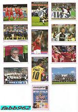 Serie Sfusa Completa Calciatori Panini 2009/2010 Film Campionato V1-V12 set